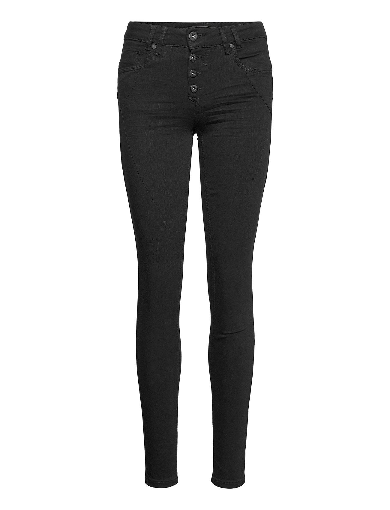 Image of Pzanna Jeans Skinny Leg Stay Black Skinny Jeans Sort Pulz Jeans (3452210751)