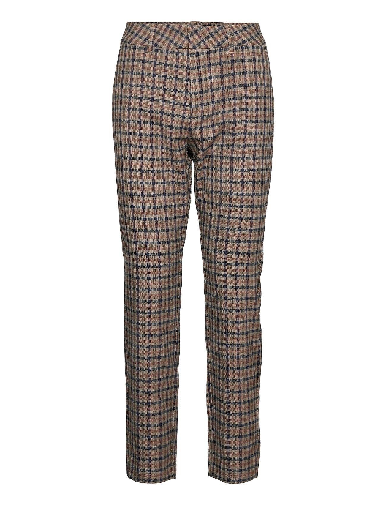 Image of Pzclara Pant Slimfit Bukser Grå Pulz Jeans (3452243793)