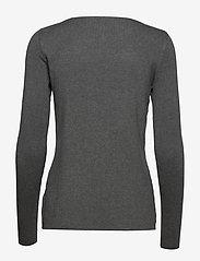 Pulz Jeans - PZSARA Boatneck Pullover - trøjer - medium grey melange - 1