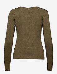 Pulz Jeans - PZSARA L/S Cardigan - cardigans - stone gray melange - 1