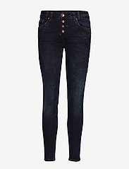 Pulz Jeans - Rosita Reg. Waist Ankle - skinny jeans - dark blue denim - 0