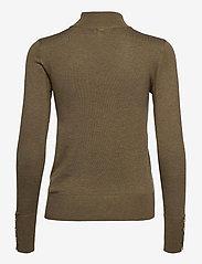 Pulz Jeans - PZSARA Turtleneck - rullekraver - stone gray melange - 1
