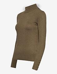 Pulz Jeans - PZSARA Turtleneck - rullekraver - stone gray melange - 2