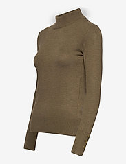 Pulz Jeans - PZSARA Pullover - turtlenecks - stone gray melange - 2