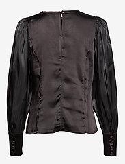 Pulz Jeans - PZSILLE Blouse - blouses à manches longues - black - 1