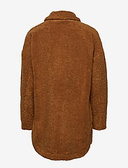 Pulz Jeans - PZTEDDY Jacket - sztuczne futro - pecan brown - 1