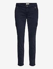 Pulz Jeans - PXELVA Pant - bukser med lige ben - dark sapphire - 0