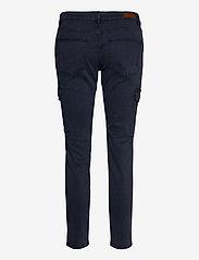 Pulz Jeans - PXELVA Pant - bukser med lige ben - dark sapphire - 1