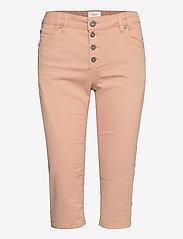 Pulz Jeans - PZROSITA Pants - pantalons capri - mahogany rose - 0