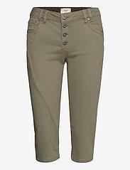 Pulz Jeans - PZROSITA Pants - capri bukser - vetiver - 0