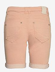 Pulz Jeans - PZROSITA Shorts - denimshorts - mahogany rose - 1