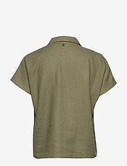 Pulz Jeans - PZBIANCA Shirt - koszule z krótkim rękawem - olivine - 1