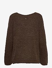 Pulz Jeans - PZASTRID Pullover - trøjer - bison melange - 1