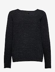 Pulz Jeans - PZASTRID Pullover - trøjer - stretch limo melange - 1