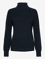 Pulz Jeans - PZRUDY Pullover - turtlenecks - dark sapphire - 0