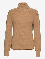 Pulz Jeans - PZRUDY Pullover - turtlenecks - tannin - 0