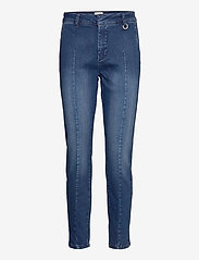 Pulz Jeans - PZCLARA Jeans - slim jeans - dark blue denim - 0