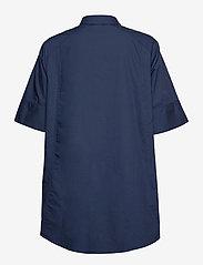 Pulz Jeans - PZWILLO Shirt - kortærmede skjorter - dark sapphire - 1