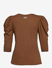 Pulz Jeans - PZCLARISSA T-shirt - t-shirts - bison - 1