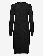 Pulz Jeans - PZNOLA Dress - strikkjoler - dark grey melange - 1