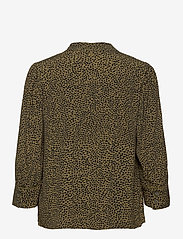 Pulz Jeans - PZMYLA Shirt - langærmede bluser - stone gray all over print - 1