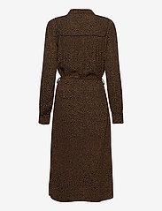 Pulz Jeans - PZMYLA Dress - midi kjoler - dark sapphire printed - 1