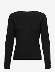 Pulz Jeans - PZSARA Pullover - trøjer - black beauty - 0