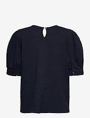 Pulz Jeans - PZAMRA Blouse - kortærmede bluser - dark sapphire - 1