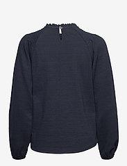 Pulz Jeans - PZAMRA Blouse - langærmede bluser - dark sapphire - 1