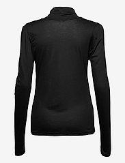 Pulz Jeans - PZCARLA T-shirt - langærmede toppe - black beauty - 1