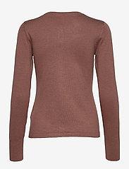 Pulz Jeans - PZSARA Cardigan - cardigans - brownie melange - 1