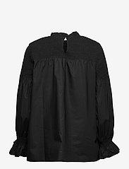 Pulz Jeans - PZWILLO Blouse - langærmede bluser - black beauty - 1