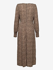 Pulz Jeans - PZANJA Dress - hverdagskjoler - tannin animal printed - 1