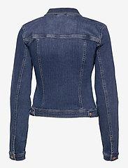 Pulz Jeans - PZSIRA Jacket - denimjakker - dark blue denim - 1