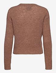 Pulz Jeans - PZIRIS Cardigan PREMIUM - cardigans - brownie melange - 1