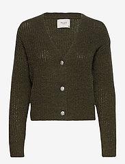 Pulz Jeans - PZIRIS Cardigan PREMIUM - cardigans - wren melange - 0