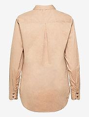 Pulz Jeans - PZELNA Shirt - langærmede skjorter - tannin - 1