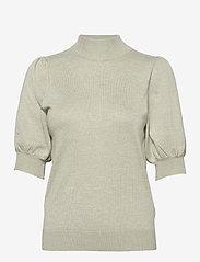 Pulz Jeans - PZSARA Pullover - strikkede toppe - desert sage melange - 0