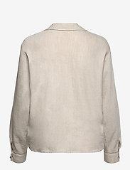 Pulz Jeans - PZLUCA Shirt - langærmede skjorter - sandshell melange - 1