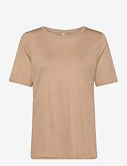 PZCARLA T-shirt - TANNIN