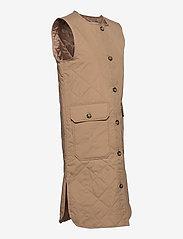 Pulz Jeans - PZELINA Waistcoat - lette frakker - tannin - 3