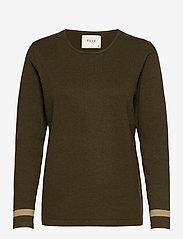 Pulz Jeans - PZSARA Pullover - trøjer - wren melange - 0