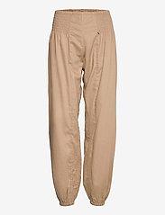 Pulz Jeans - PZJILL Pant Wide Leg - casual bukser - tannin - 0