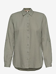 Pulz Jeans - PZANITA Shirt - langærmede skjorter - vetiver - 0