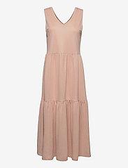 PZAMELIA Dress Long MIX&MATCH - MAHOGANY ROSE