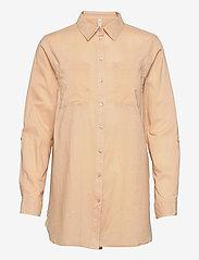 Pulz Jeans - PZSAVANNAH Shirt - langærmede skjorter - irish cream - 0