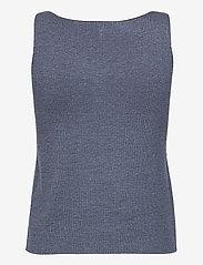 Pulz Jeans - PZSARA Top - strikveste - vintage indigo melange - 1