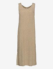 Pulz Jeans - PZBENEDIKTE Dress - sommerkjoler - tannin flower printed - 0