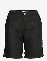 PZBIANCA Shorts - BLACK BEAUTY