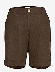 Pulz Jeans - PZBIANCA Shorts - chino shorts - wren - 0
